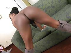 Amazing Black TGirl from Los Angeles